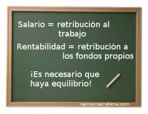 Salario. Algo que trabajadores y sindicatos deben asumir