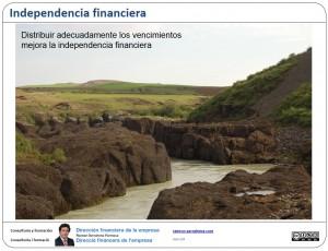 Distribuir adecuadamente los vencimientos mejora la independencia financiera