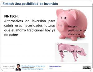 """Fintech """"ahorro"""" eficaz"""