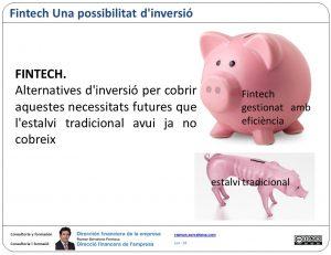 "Fintech ""estalvi"" eficaç"