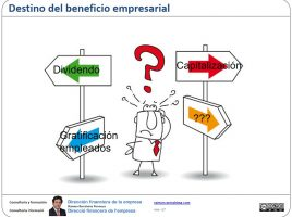 Destino beneficio empresarial